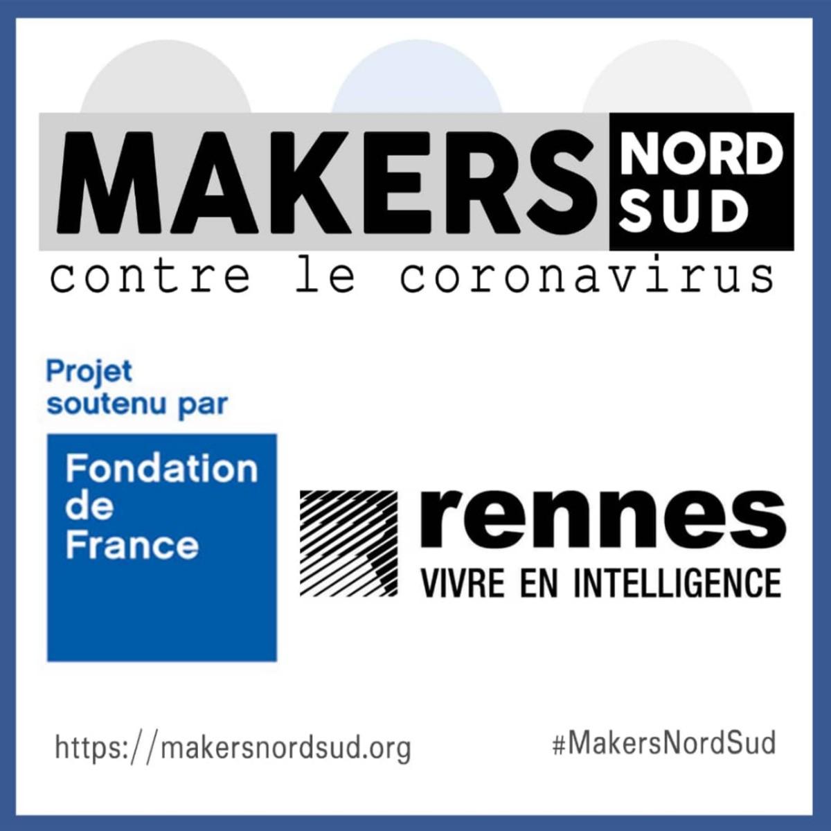 MakersNordSud : Le projet obtient le soutien de Rennes Villes et Métropole et de la Fondation de France