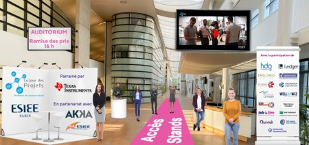 ESIEE Paris organise  son Jour des Projets en virtuel