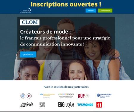 Formation en ligne : stratégies de communication en français pour les créateurs de mode