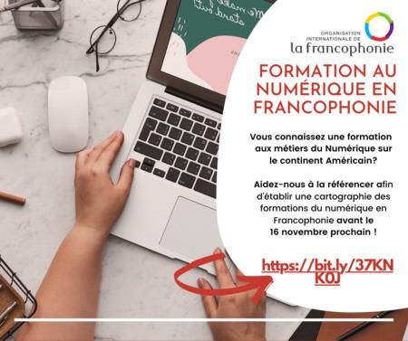 Référencement des formations aux métiers du numérique en francophonie