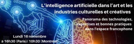 [Invitation webinaire 3]  L'excellence francophone dans le domaine de l'IA et les ICC