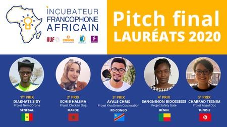 Incubateur Francophone Africain 2020, découvrez les lauréats (AUF)