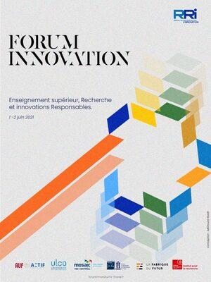 Forum Innovation 2021 : Enseignement Supérieur et Recherche : vecteur d'Innovations Responsables