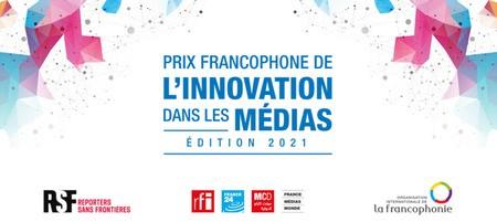 Prix francophone de l'innovation dans les médias 2021