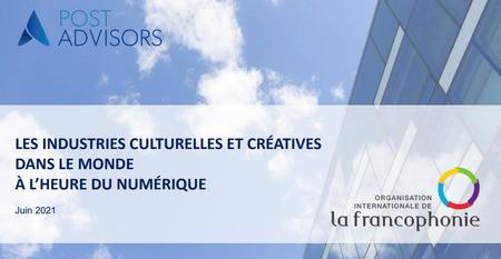 Etude : Les industries culturelles et créatives dans le monde à l'ère du numérique