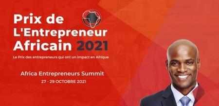 LE PRIX DE L'ENTREPRENEUR AFRICAIN 2021 LANCE SON APPEL A CANDIDATURE