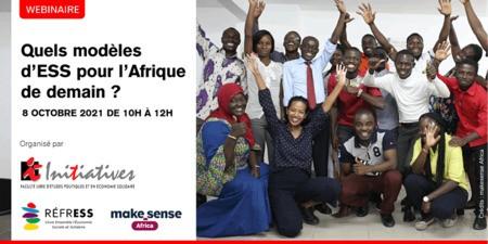 Webinaire: Quels modèles d'ESS pour l'Afrique de demain ?
