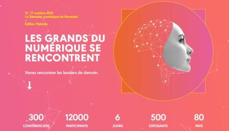 MTL connecte : Les grands du numérique se rencontrent à Montréal et en ligne