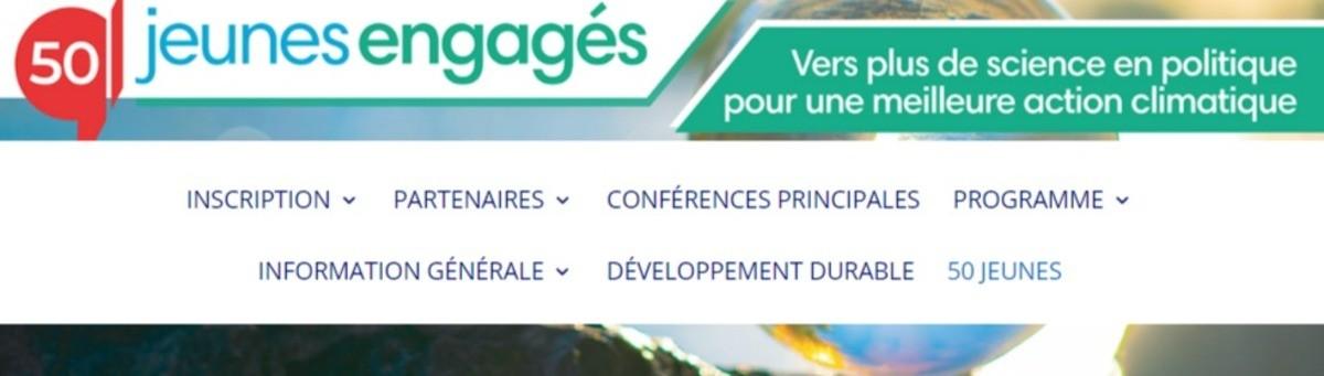 Appel à candidatures pour 50 jeunes francophones engagés (INGSA 2021)