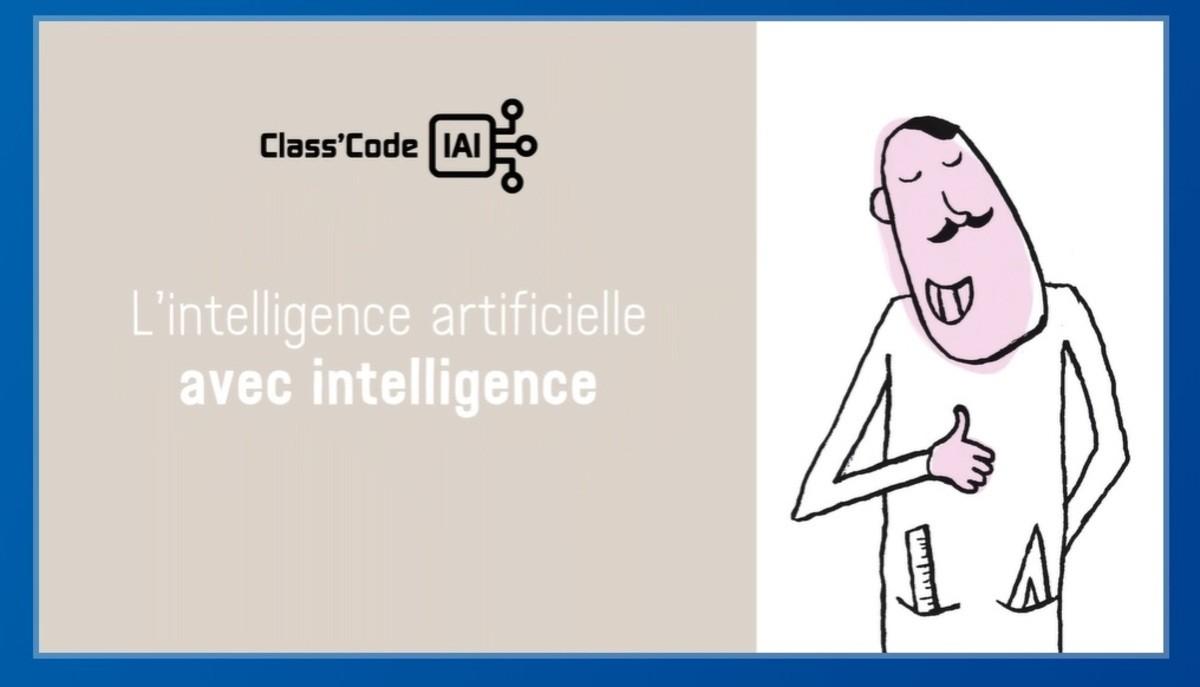 Comprendre l'Intelligence Artificielle avec le MOOC Class'Code IAI