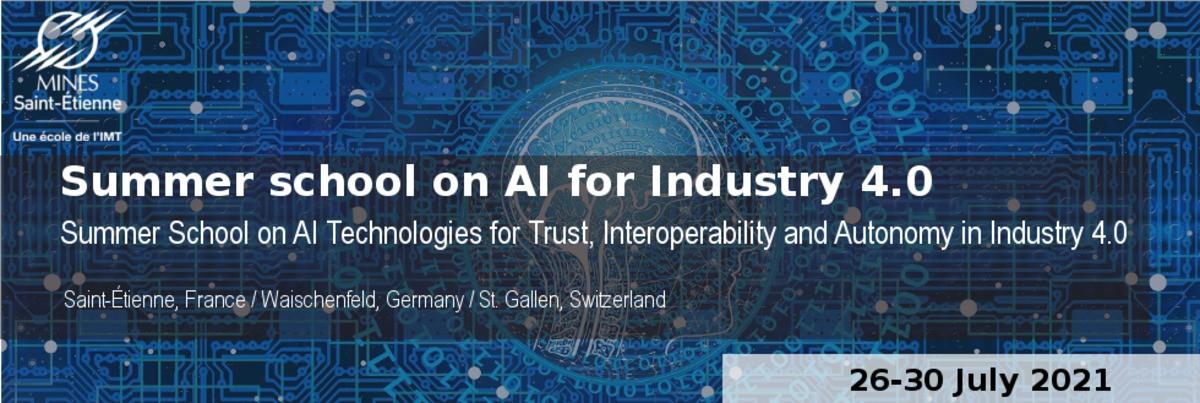 Ecole d'été 2021 sur les technologies de l'IA pour la confiance