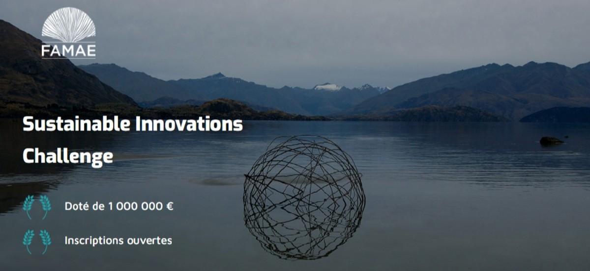 Concours Sustainable Innovations Challenge doté de 1 000 000 d'euros