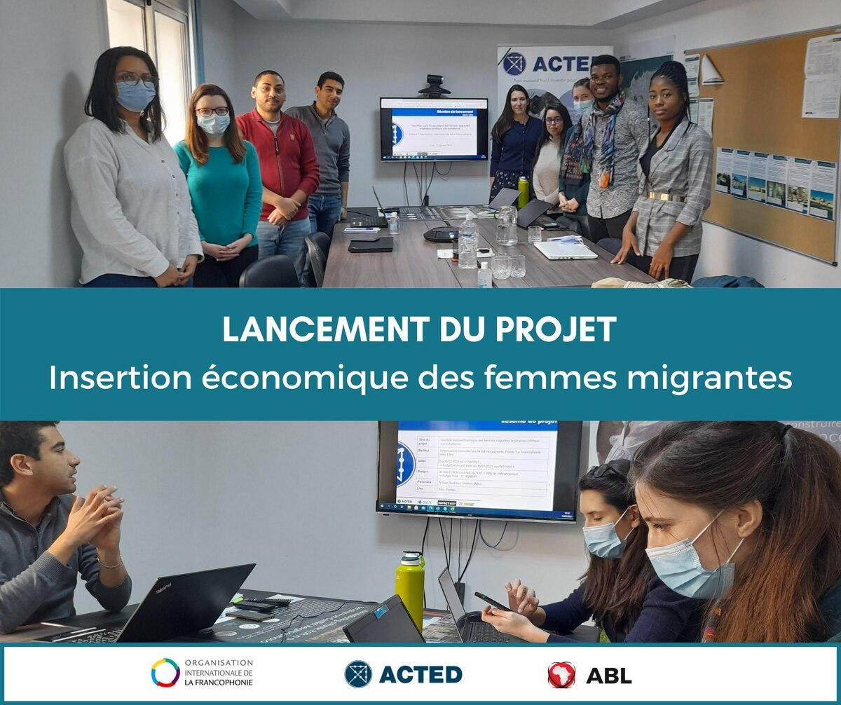Lancement du projet d'insertion économique des femmes migrantes en Tunisie
