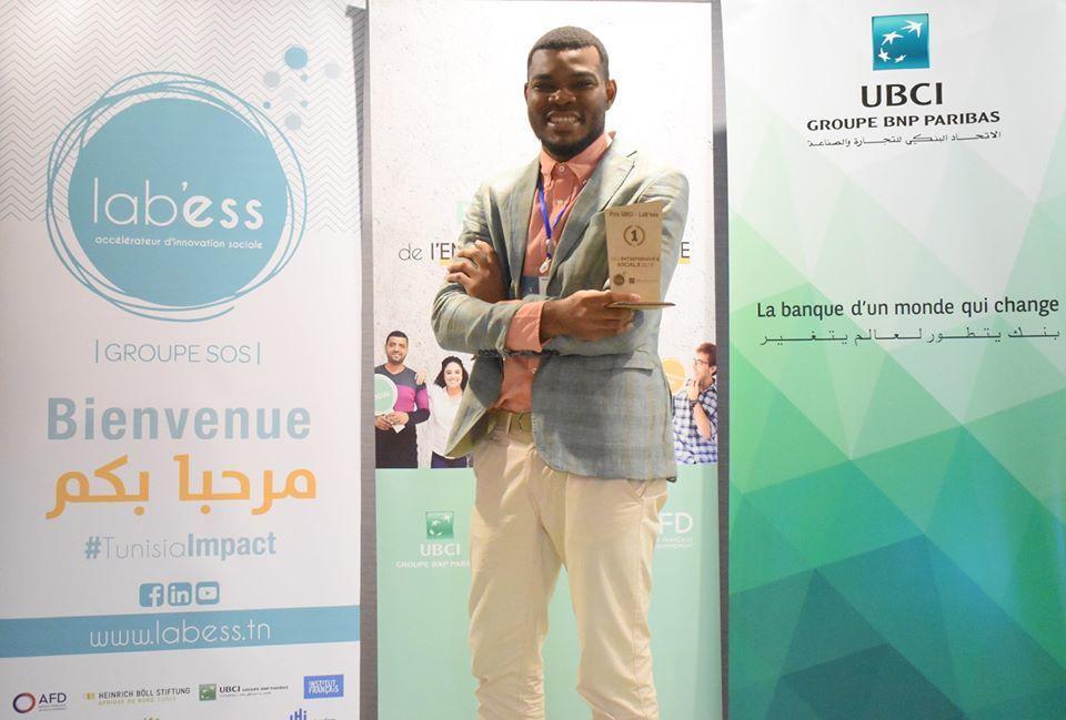 Le projet KUFANYA incubateur pour entrepreneur migrant reçoit le prix de l'entrepreneur.e social.e de l'UBCI et du LAB'ESS de 2019