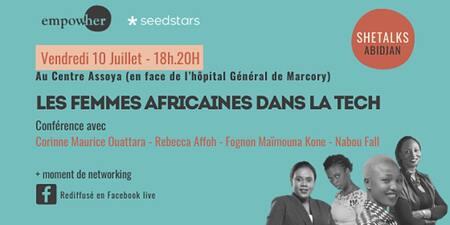 Conférence : les femmes africaines dans la Tech