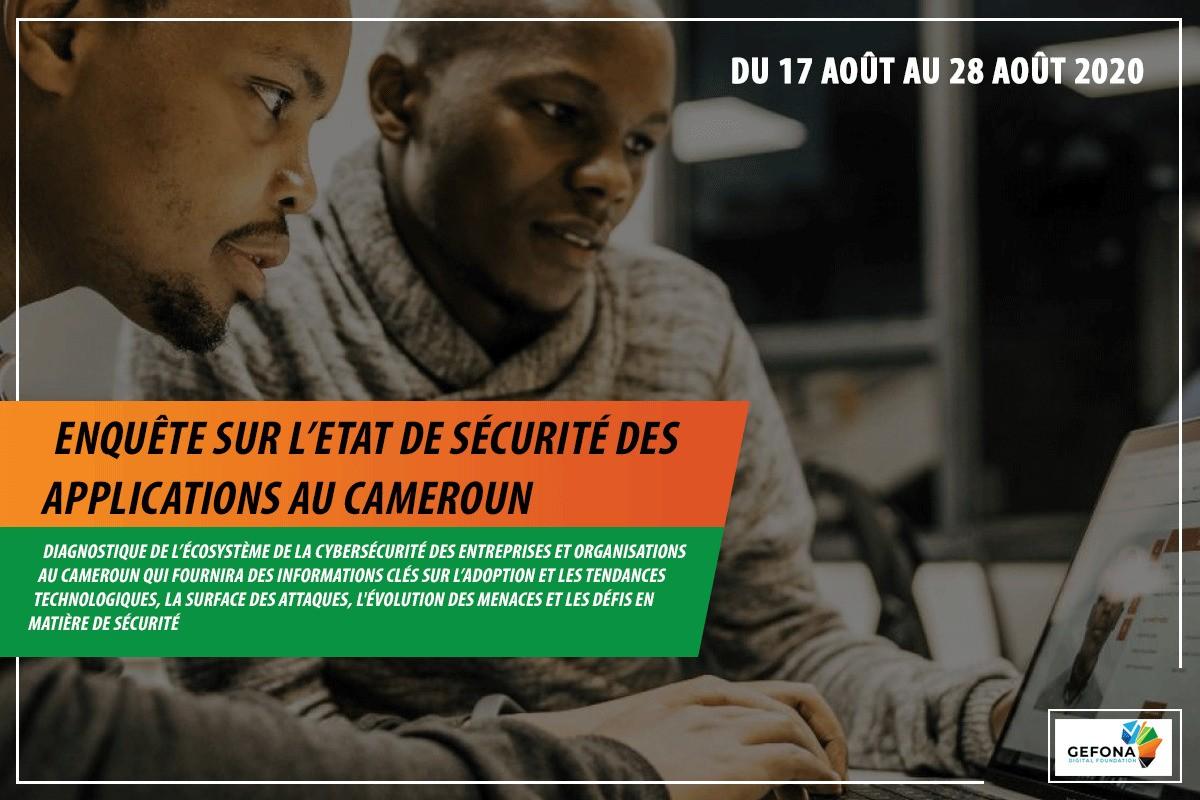 Gefona Digital Foundation lance une enquête sur la sécurité des applications au Cameroun