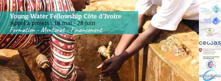 Appel à candidatures pour le programme YOUNG WATER FELLLOWSHIP COTE D'IVOIRE 2020