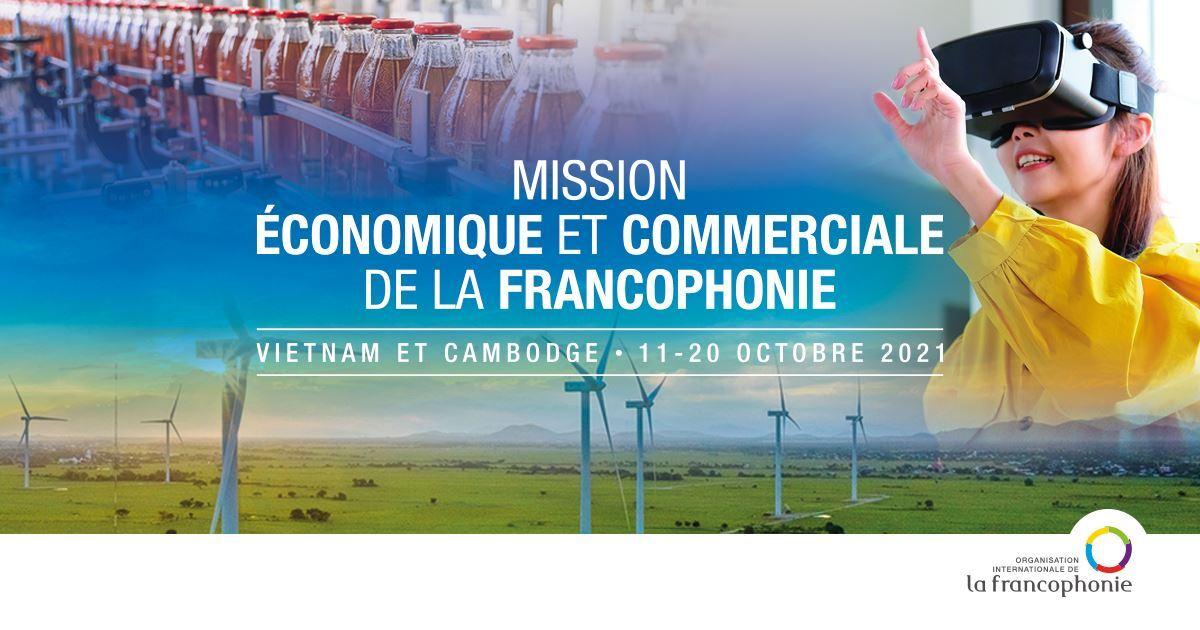 Participez à la Mission Économique et Commerciale de la Francophonie 2021