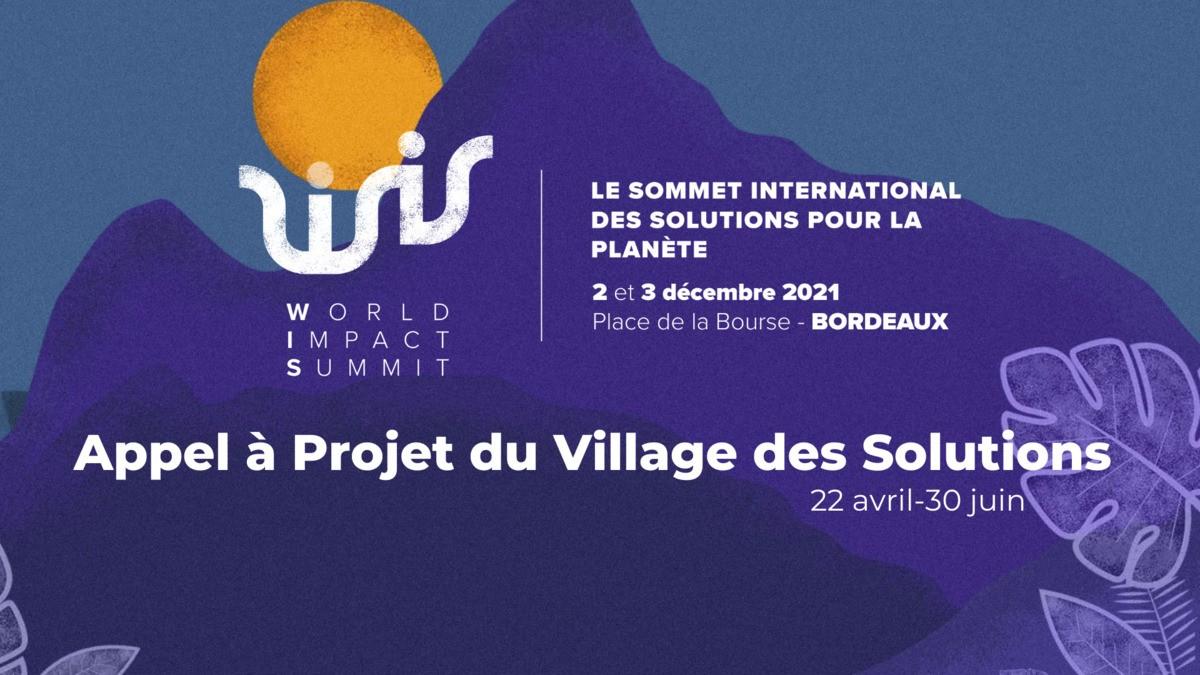 Appel à projets du Village des Solutions 2021