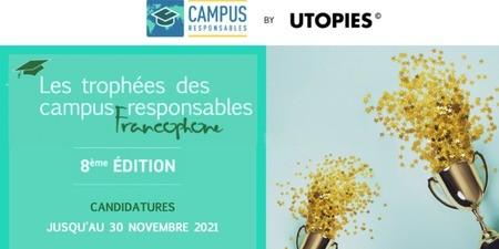 8ème édition des Trophées francophones des campus responsables