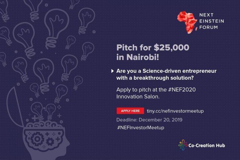 Appel à projets pour le Next Einstein Forum à Nairobi, Kenya