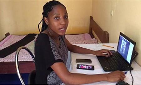 ''Le COVID-19 est combattu à l'IAI-Cameroun par le télétravail et les cours en ligne'', rassérène Armand Claude Abanda, le Représentant-résident