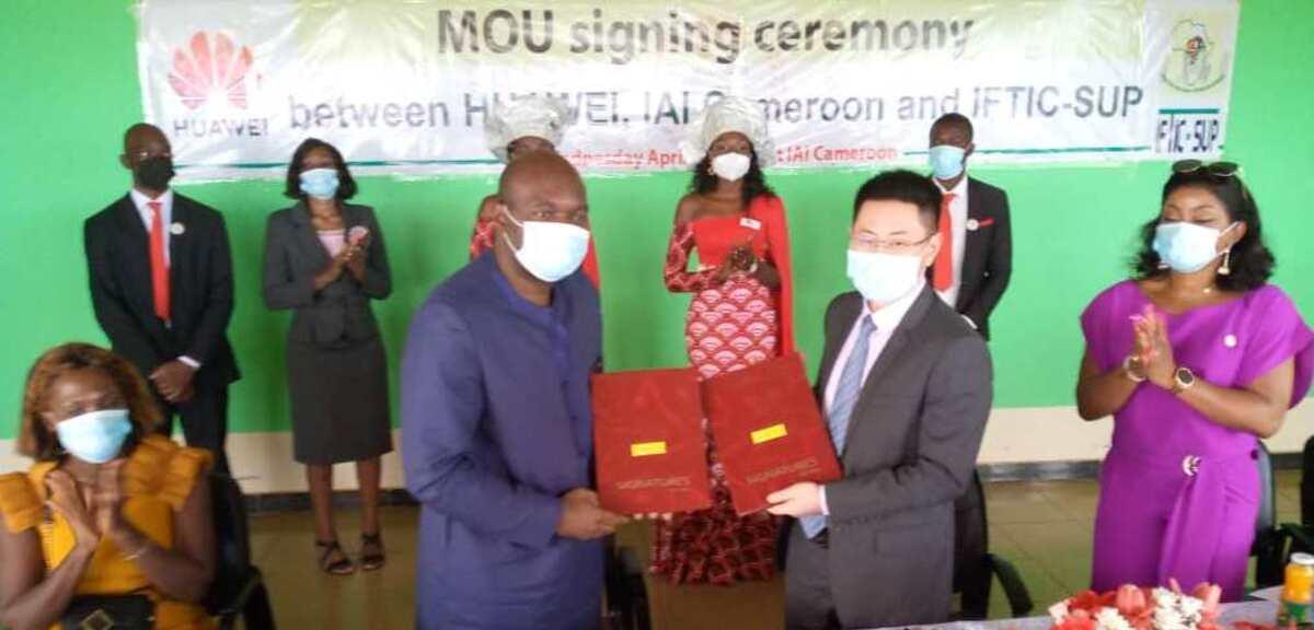L'IAI et l'IFTIC-Sup s'associent à Huawei pour une révolution digitale au Cameroun