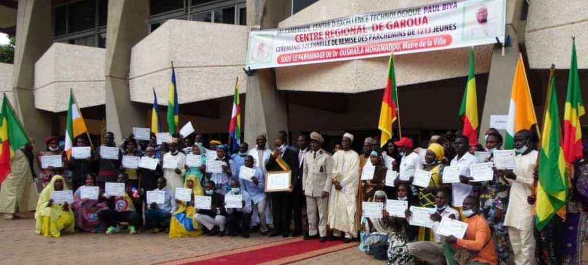1213 jeunes de Garoua (nord-Cameroun) formés aux TIC par l'IAI